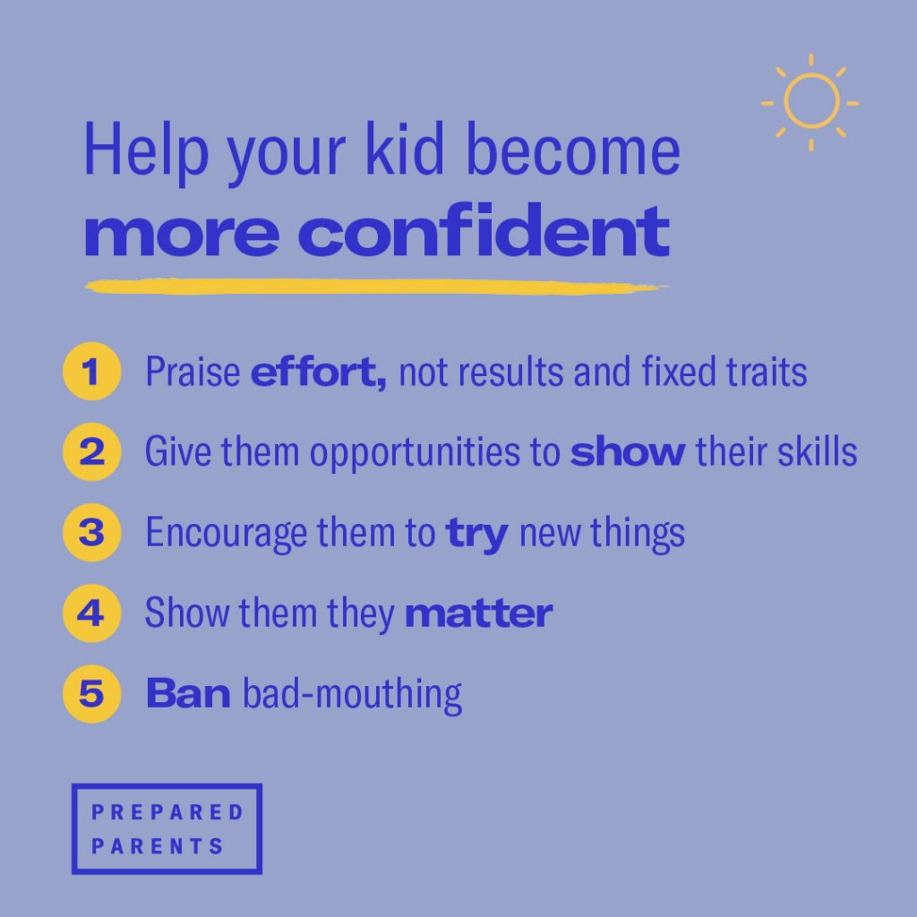 Help your kid become more confident